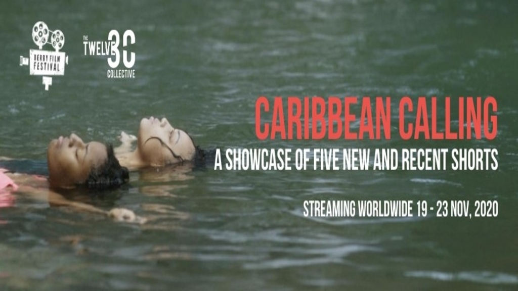 A poster for the Caribbean Calling film segment.