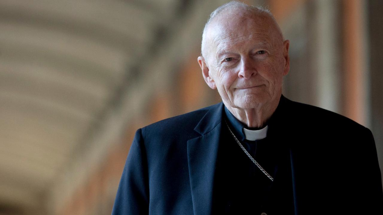 In this February 13, 2013 file photo, Cardinal Theodore Edgar McCarrick poses for a photo in Rome.  (AP Photo/Andrew Medichini, File)