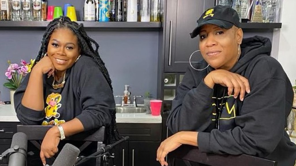 Nadia Batson and Miss Alysha on the set of their YouTube talk show Yellow Cow TV. Photo: screenshot from IG.