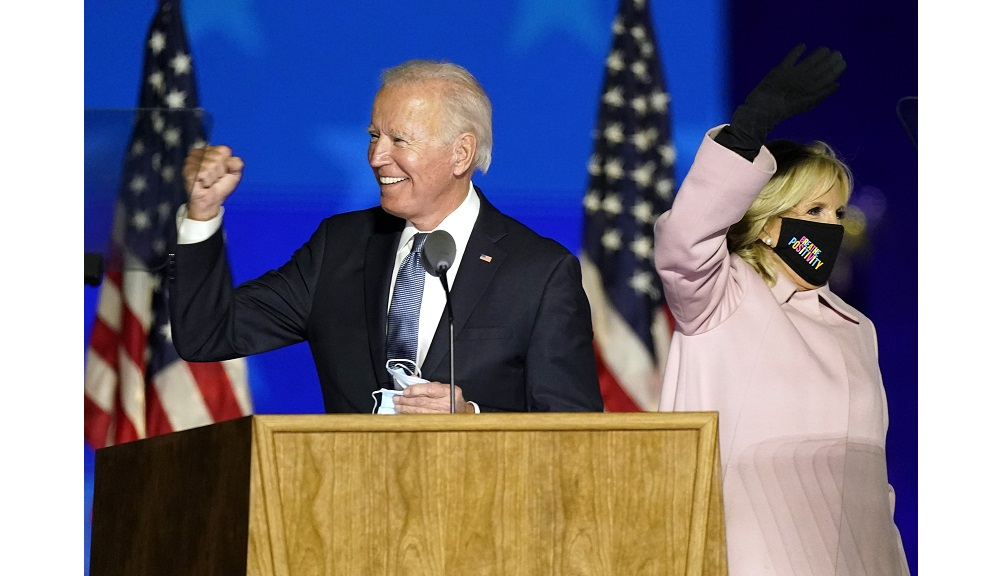 Jill and Joe Biden (AP)