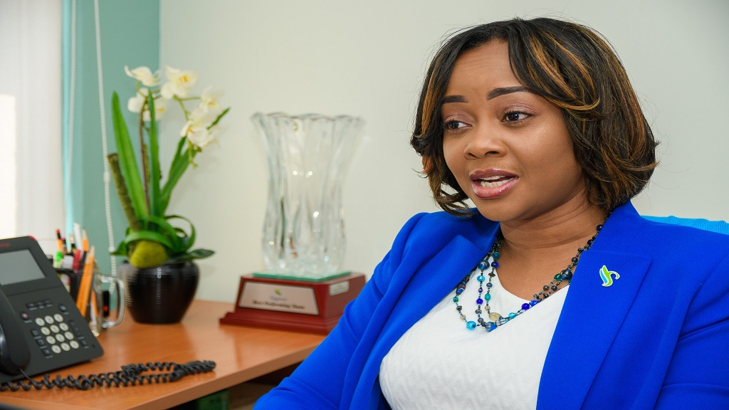 Mischa McLeod-Hines, Assistant Vice President – Capital Markets, Sagicor Investments.