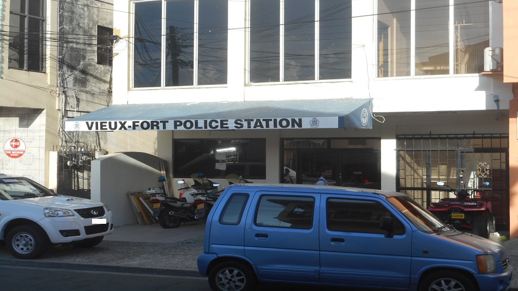 Clarke Street location where the Vieux-Fort Police Station currently operates