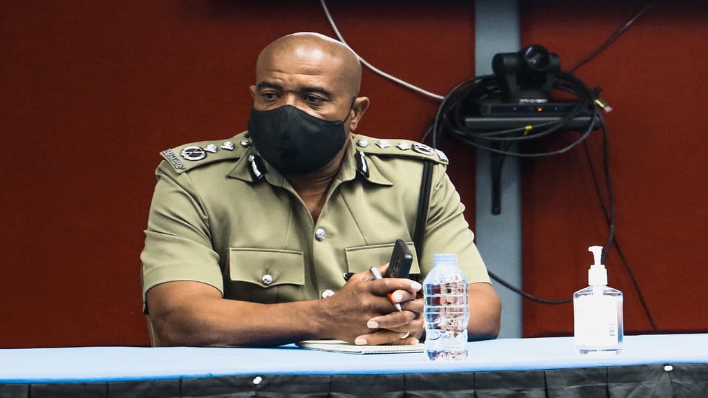 Deputy Police Commissioner Milton Desir