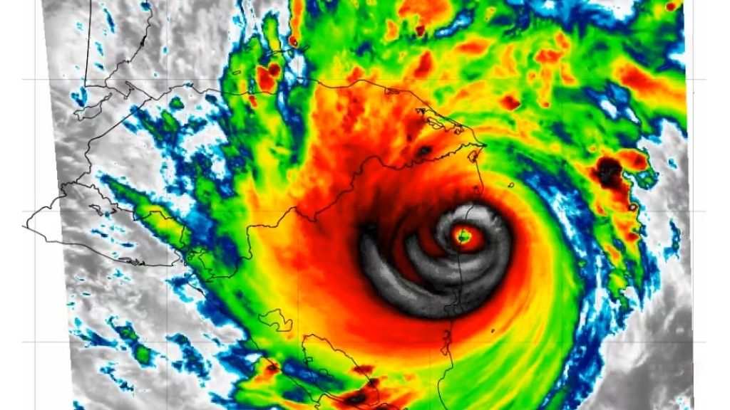 Iota was the strongest November hurricane on record to make landfall in Nicaragua, surpassing the previous record set by Eta (140 mph) just 13 days prior