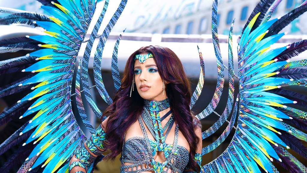 Rhion Romany stays in Carnival spirit with new costume