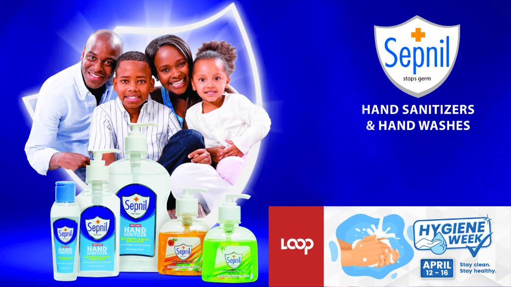 Hygiene Week: Stop germs with Sepnil