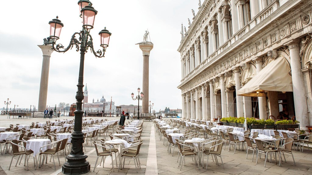 Italy is gradually reopening after six months of rotating virus closures allowing outdoor dining