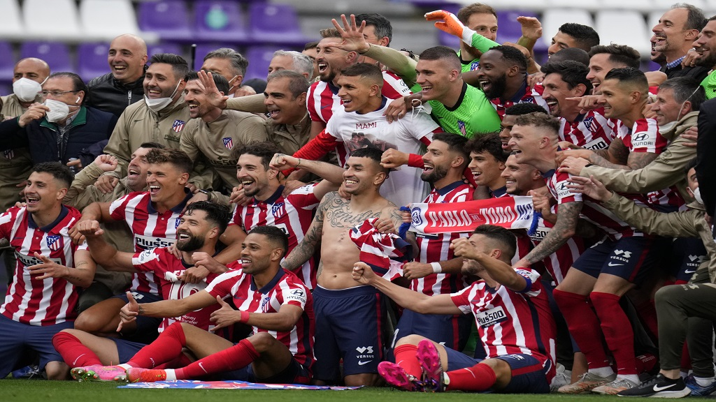 Atletico Hold On To Win First Spanish League Title Since 2014 Loop Trinidad Tobago