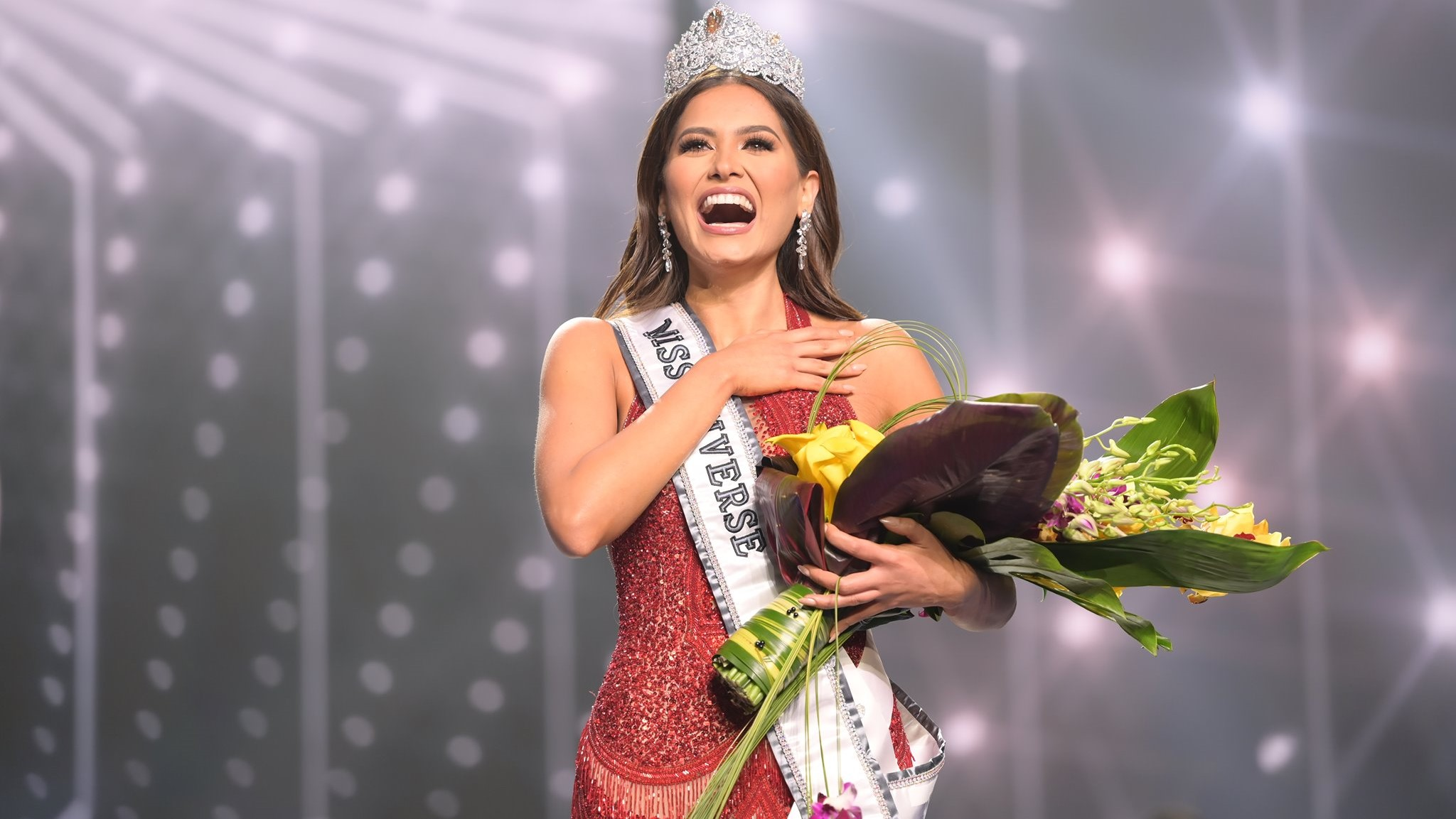 Andrea Meza of Mexico crowned 69th Miss Universe   Loop Caribbean News