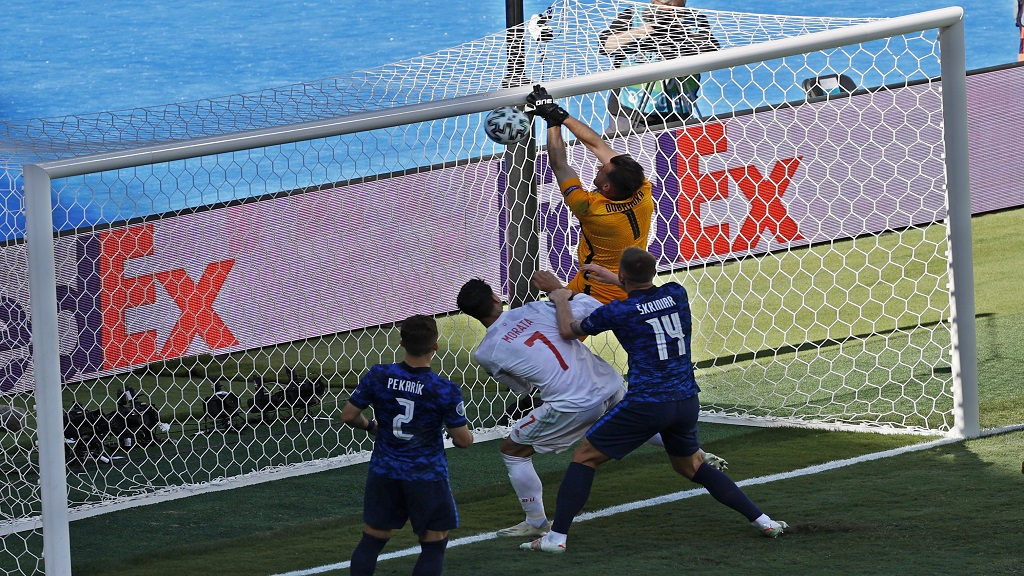Bizarre own-goal helps Spain advance to last 16 at Euro 2020   Loop Trinidad & Tobago