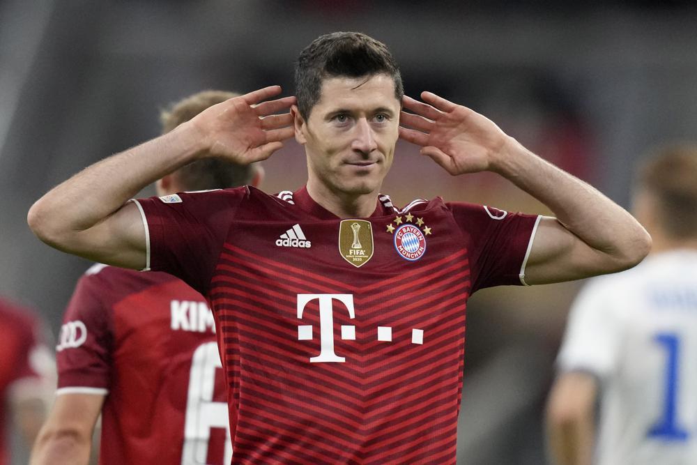 Lewandowski scores 2 as Bayern hammers Dynamo Kyiv 5-0 | Loop Trinidad &  Tobago