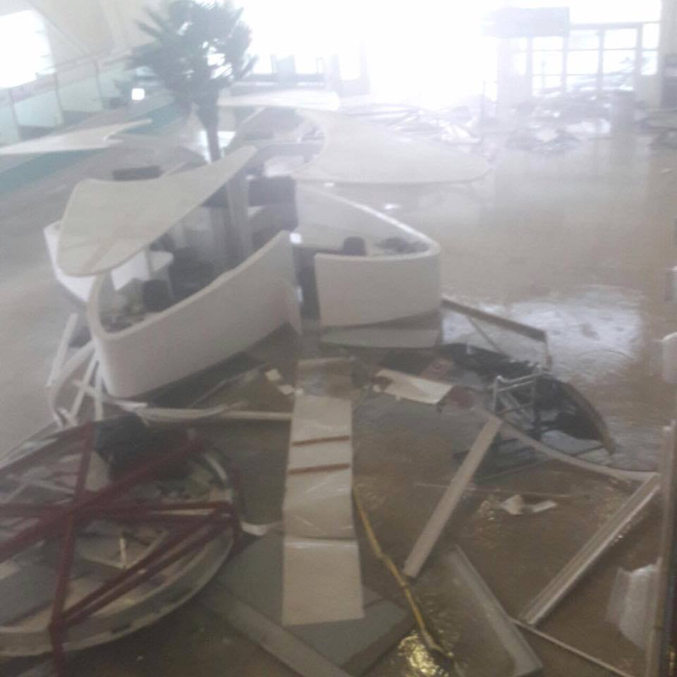 Hurricane Irma Has Devastated One of the Most Famous Airports on Earth