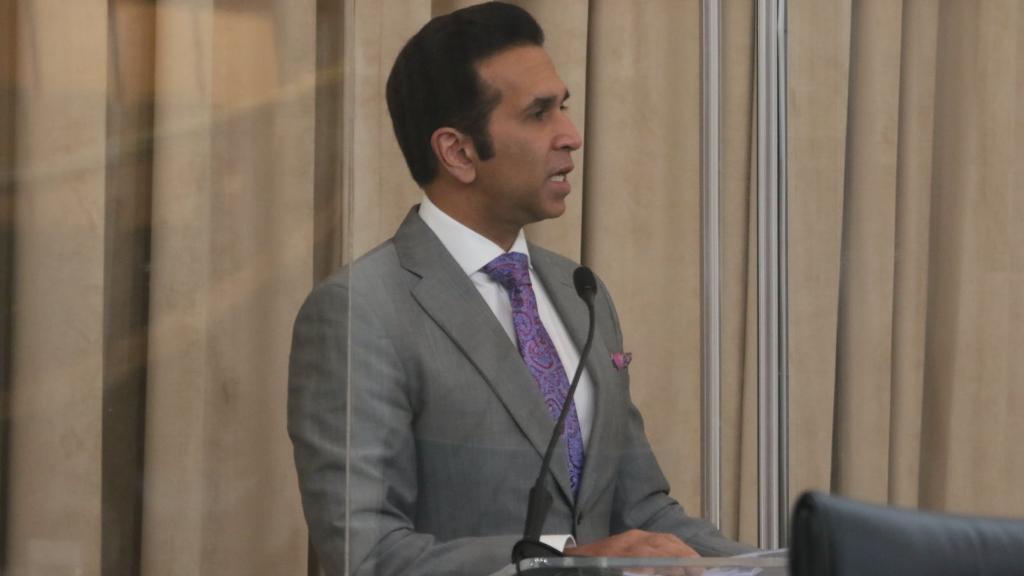 Attorney General Faris Al-Rawi, courtesy Parliament of Trinidad and Tobago.