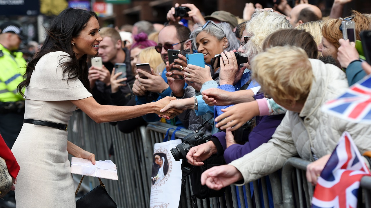 Here's why Kate Middleton stood in front of Meghan Markle at 'Trooping the Colour'