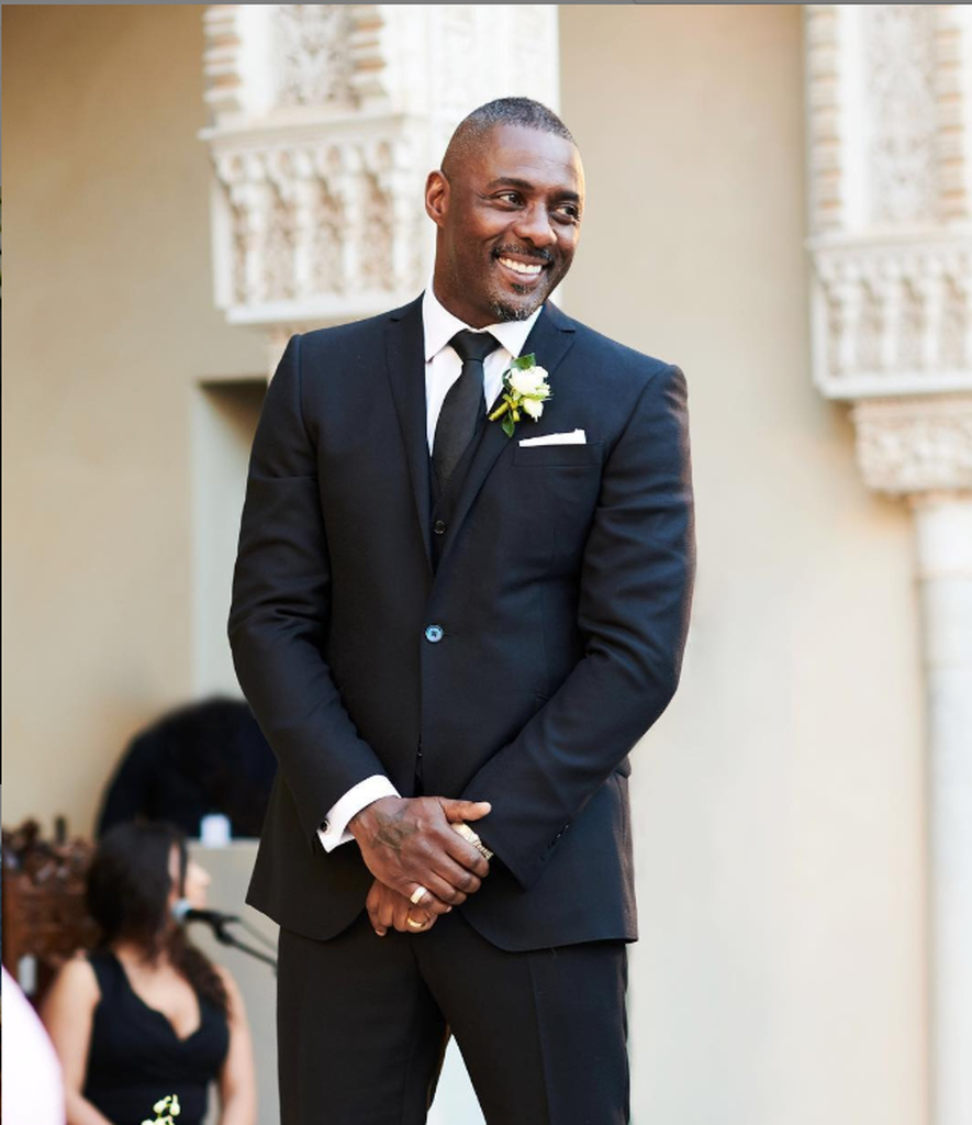 Idris Elba marries model Sabrina Dhowre in Morocco
