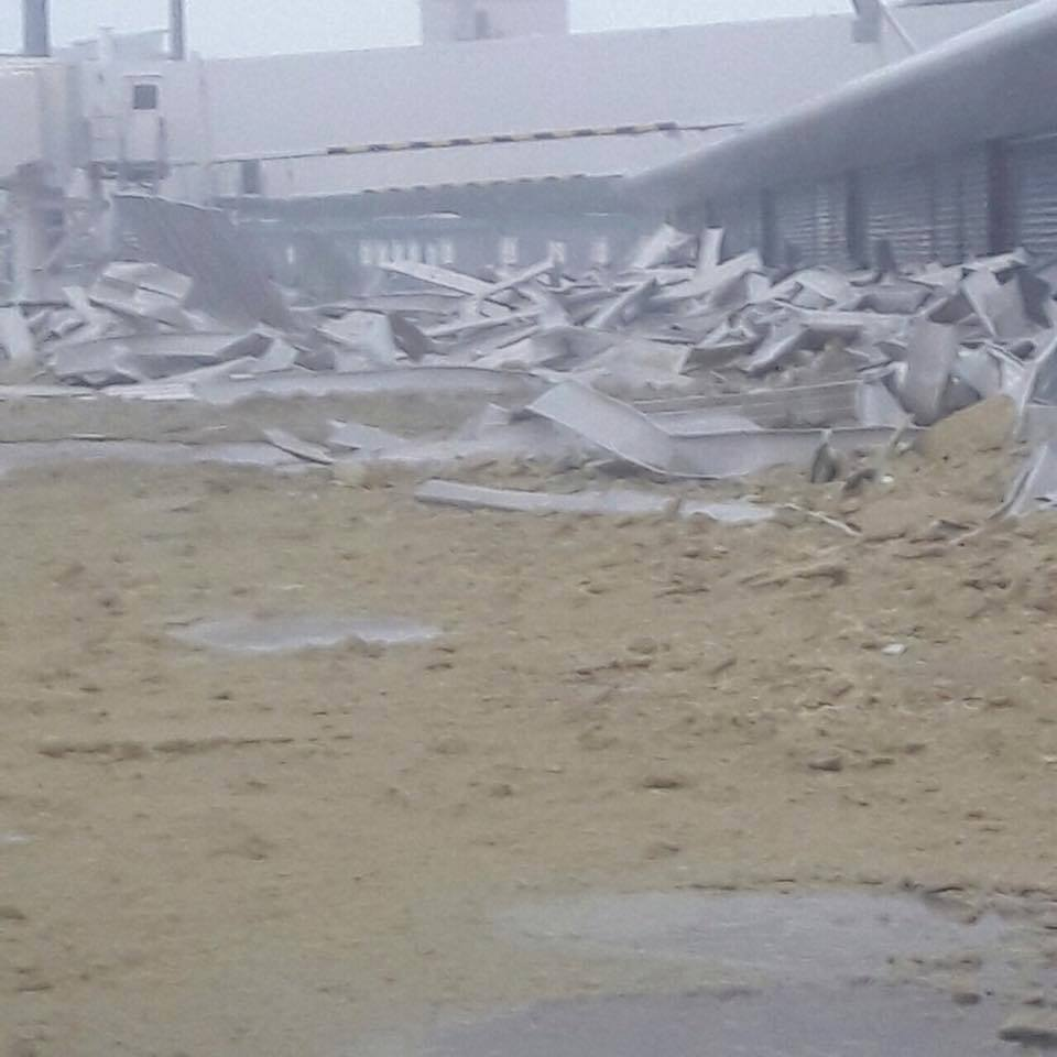 Famous St Maarten airport destroyed by Hurricane Irma