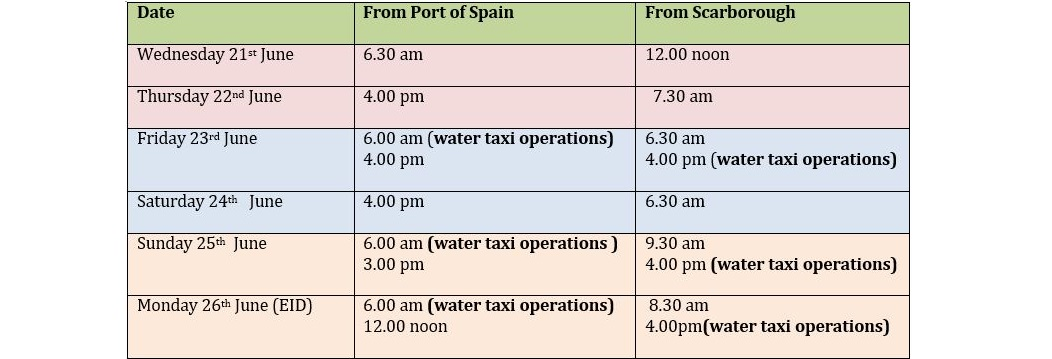 Ferry service active for Eid holiday | Loop News