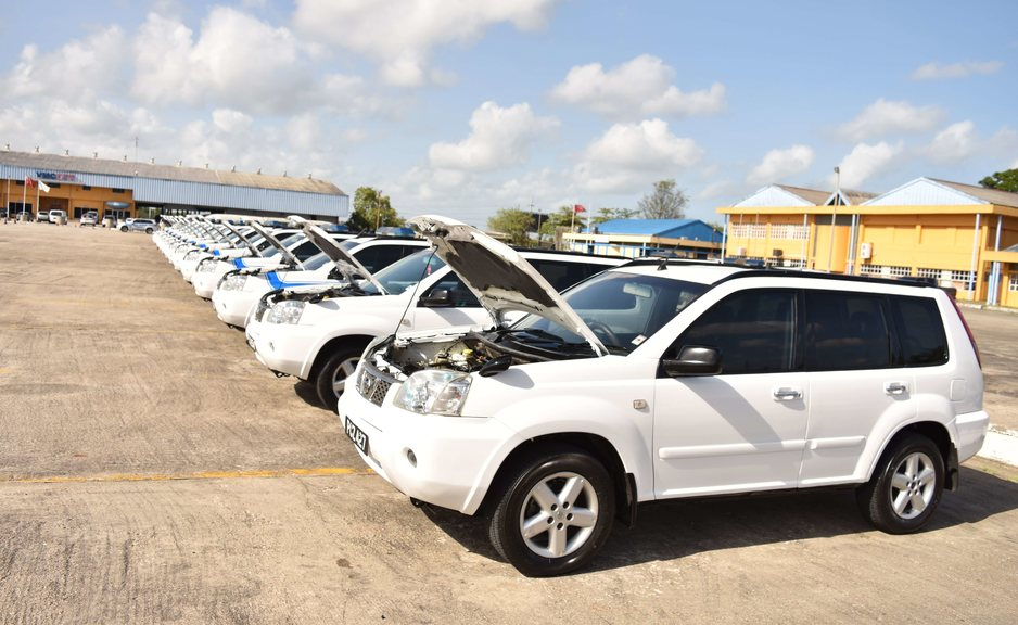 Out of service police vehicles refurbished, returned to