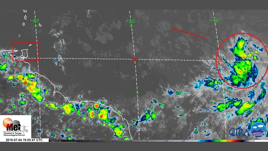 Tropical Storm Beryl weakens as it moves into Caribbean