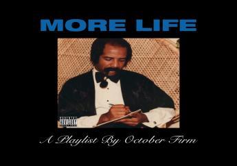 "Toronto Rapper Drake's  ""More Life"" Album cover."