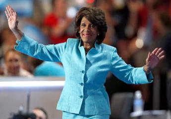 Maxine Waters, in her 14th term as a Democratic member of Congress from California (Photo Credit: AP)