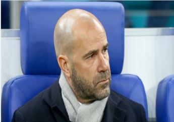 Ajax coach Peter Bosz.