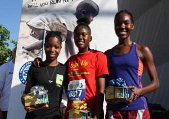 At the Run/Walk event, Andrew Mahfood, Chairman of FFP Jamaica announced that the charity intends on constructing 100 houses from the event.