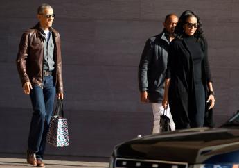 Michelle Obama laat de politiek voorlopig nog links liggen.