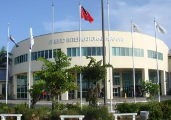 Piarco International Airport in Trinidad.