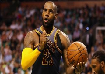 Cleveland Cavaliers star LeBron James.