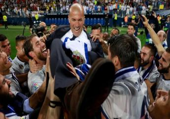 Real Madrid coach Zinedine Zidane revealed his pride at winning LaLiga as a coach eclipsed his experiences as a player.
