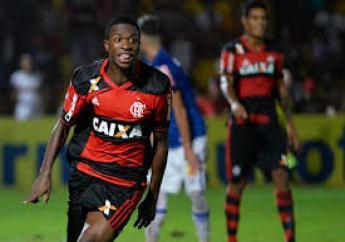 Vinicius Junior, 16, only played his first professional game in May but he has been snapped up by Real Madrid for a reported €45million fee.