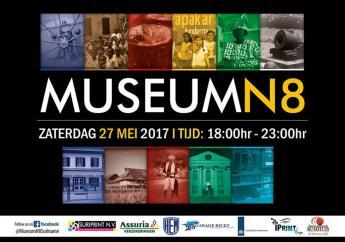 De vierde editie van Museumnacht wordt dit jaar op 27 mei 2017 gehouden.