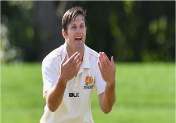 New Zealand pacer Hamish Bennett.