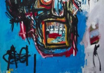 Un tableau de Jean Michel Basquiat  Crédit photo : AFP