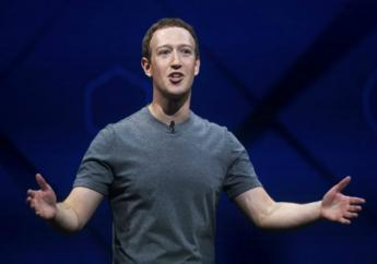 In this April 18, 2017 file photo, Facebook CEO Mark Zuckerberg speaks at his company's annual F8 developer conference in San Jose, Calif. Zuckerberg wrote in a Facebook post on May 21, 2017, that he's not running for public office. (AP Photo/Noah Berger, File)