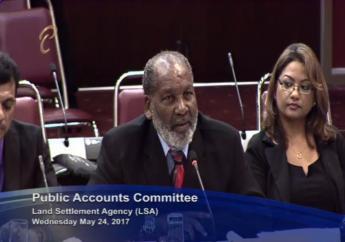 Land Settlement Agency Chairman Ossley Francis