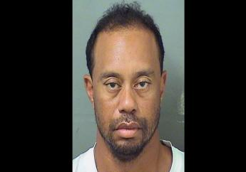This image provided by the Palm Beach County Sheriff's Office on Monday, May 29, 2017, shows Tiger Woods after his arrest. (PHOTO: AP)