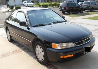 File photo of 1996 Honda Accord (not actual vehicle stolen)