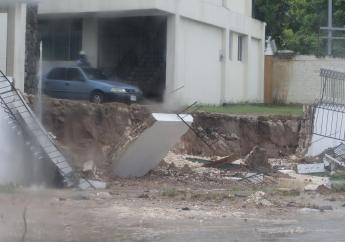 Damage in St Andrew