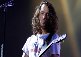 In this Sunday, Aug. 8, 2010, file photo, musician Chris Cornell of Soundgarden performs during the Lollapalooza music festival in Grant Park in Chicago. (AP Photo/Nam Y. Huh, File)