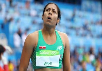 Het Surinaams record voor de 100 meter sprint staat nu met 11,42 seconden op naam van Sunayna Wahi.