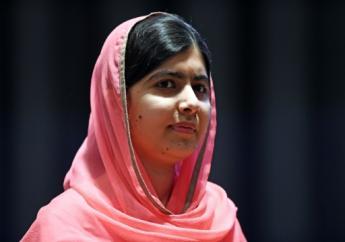 Nobel Peace Prize winner Malala Yousafzai.