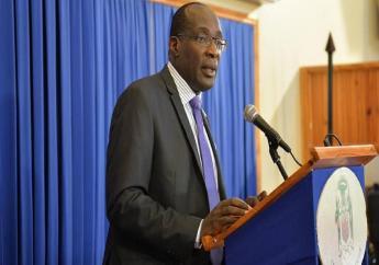 Education Minister, Senator Ruel Reid