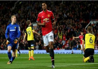 Manchester United forward Marcus Rashford.