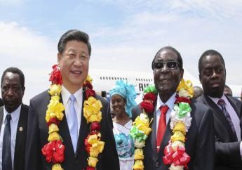 Le président chinois Xi Jinping et l'ancien président zimbabwéen Robert Mugabe./ Credit photo: AfricaTime