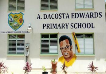 St. Andrew Primary was renamed A. DaCosta Edwards Primary.