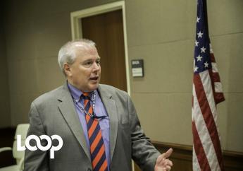 Robert Hannan, chef de mission adjoint par intérim de l'ambassade des États-Unis en Haïti. Photo: LoopHaiti/Estaïlove ST-VAL