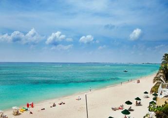 A beach in the Cayman Islands