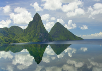 The Pitons in St. Lucia